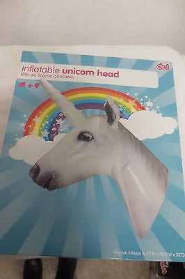 New NIB inflatable unicorn head DCI - Inflatable Unicorn Head