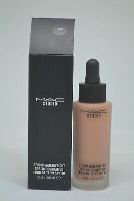 MAC Studio Waterweight SPF 30 Foundation BNIB 30ml/1fl.oz. ~NW30~ Nw30 Mac