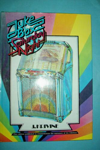 Jukebox Saturday Night Hardcover Book by J. Krivine