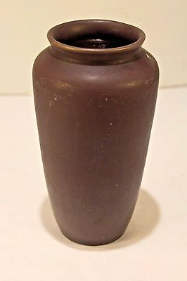 Vintage School Of Mines Purple Clay Vase UND Pottery University of North Dakota