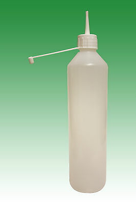 500ml LDPE bottle and 28mm spout