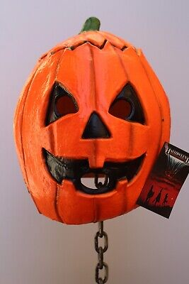 Halloween III Season Of The Witch Pumpkin Mask by Trick Or Treat Studios](Trick Or Treat Halloween Pumpkin)