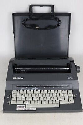 Smith Corona Sc 110 Spell Right Dictionary Electric Portable Typewriter - Tested