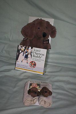 Eddie Bauer Dog Harness - Eddie Bauer 2 in 1 Harness Buddy NEW Backpack Tether set  Strap Dog  Leash