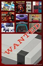 WANTED: video games and consoles Mount Hutton Lake Macquarie Area Preview