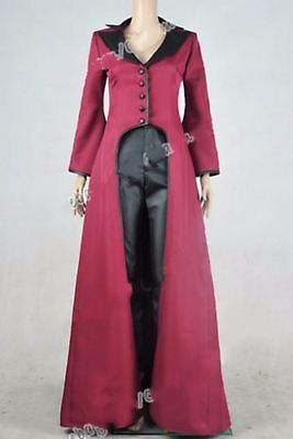 Once Upon A Time Cosplay Regina Mills Evil Queen Costume Halloween - Once Upon A Time Queen Costume
