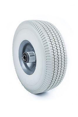 Set Of 2 Flat Free Hand Truck Wheel 4.103.50-4 Tire 58 Bearing Wffgr10