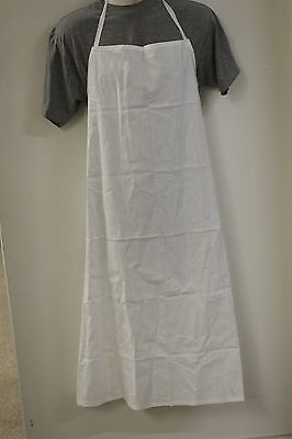 Food Handlers Apron Color Drill White