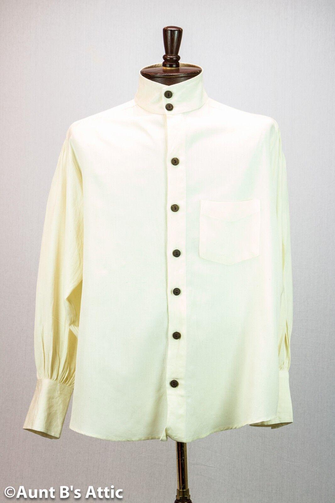 Steampunk Victorian 18th-19th Century Ecru Cotton/linen M...