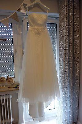 Brautkleid Hochzeitskleid von Elisabeth Passion Kollektion 2016 in Gr.38