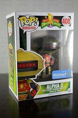 ALPHA 5 Funko POP! TV Television #408 Power Rangers MMPR WALMART EXCLUSIVE