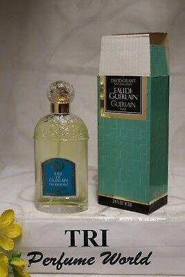 EAU DE GUERLAIN by Guerlain Women Deodorant Spray 3.4 fl. oz. Original Formula Guerlain Deodorant Spray