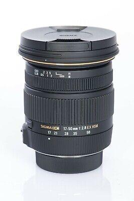 Sigma 2,8/17-50mm Ex Dc OS HSM Nikon-Af Lente, usado segunda mano  Embacar hacia Mexico
