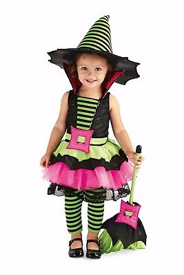 CHASING FIREFLIES PRINCESS PARADISE BABY Spiderina WITCH COSTUME/HAT 12-18 MONTH - Spiderina Witch Costume
