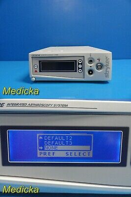 2010 Stryker Endoscopy 0475000000 Crossfire Integrated Arthroscopy System 21438