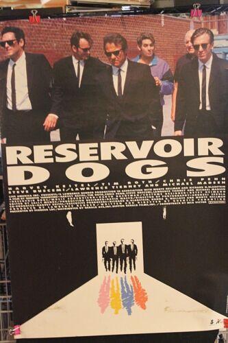 RESERVOIR DOGS  ORIGINAL MOVIE POSTER Japanese 29x41 1993 Quentin Tarantino
