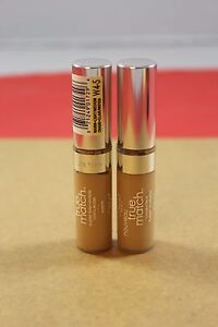 2PACK L'Oreal True Match Super-Blendable Concealer- W4-5 Light/Medium Warm .17oz
