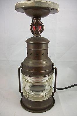 Antique Copper Porch Light Nautical Outdoor Ceiling Lantern Fixture Chandelier