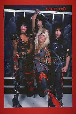 Motley Crue Vince Neil Nikki Sixx Tommy Lee Mick Mars Early Poster 24X36   MC83