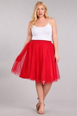 Plus Size Tutu Skirt (plus size tutu skirt)