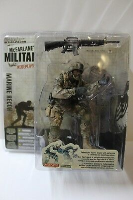 McFarlane Military Redeployed Army Ranger Action Figure FREE SHIPPING
