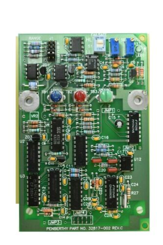 Penberthy Levelmark 814 Level Switch Relay PCB Circuit Board 115V