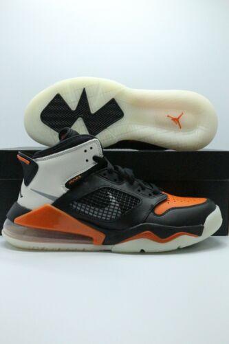 Jordan Mars 270 (GS) Black Reflect Starfish Orange basketball Shoes BQ6508 008