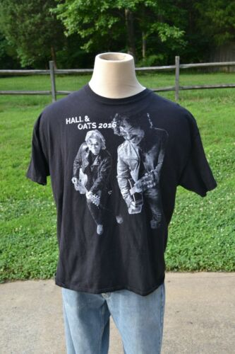 Hall & Oates 2016 Tour T Shirt - Sz XL