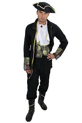 Komplettset: Kostüm Herren Herrenkostüm Barock Pirat Edelmann edler Lord - Pirat Kostüm Mann