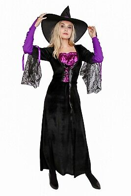 🔥Lady's Witch Costume Wizard Sorceress Halloween Cosplay
