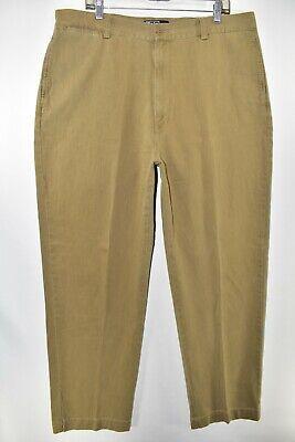 Polo Ralph Lauren Khakis Chino Pants Mens Size 40x32 Tan Meas 38x32 Beige Dress