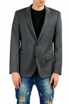 Grau Sport Coat Blazer (Hugo Boss C-huge1 Herren 100 Wolle Grau Blazer Sport Coat 38r It)
