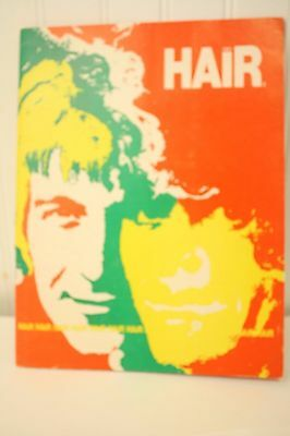 VTG 1969 HAIR Souvenir Picture Program Book - Michael Butler - 24 pgs