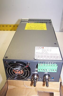 New Scc 920ps-5-100 Power Supply 5 Vdc 100 Amp Static Controls Corporation Dc Ps
