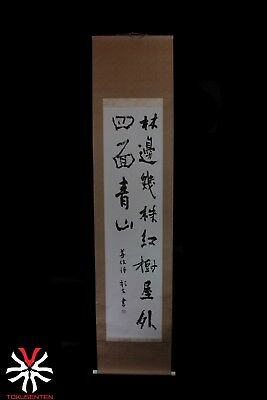 Kakemono Hanging Scroll Handmade Painted Japanese Made IN Japans