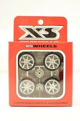 XS Tuning Custom Wheels & Accessories 1/24 Model Car Parts #17-10002 RS Touring