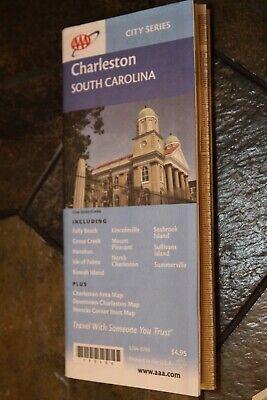 AAA city series Charleston South Carolina roadmap 2004 Seeger Map company