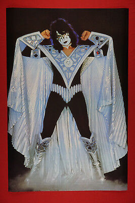 Ace Frehley of Kiss Rock Band Space Costume Promo Poster 24X36 New     KACE