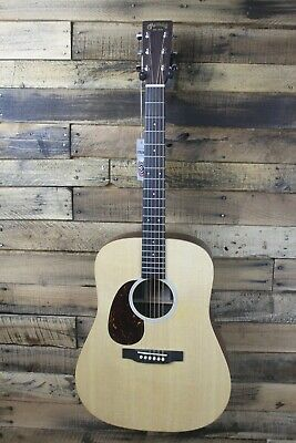 Martin DX1AE-L Dreadnought Left Handed Acoustic-Electric Guitar DAMAGED #R3162