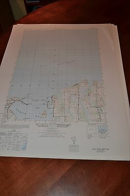1940's Army (like USGS) topographic map Sodus Point  New York -Sheet 5670 IV SW