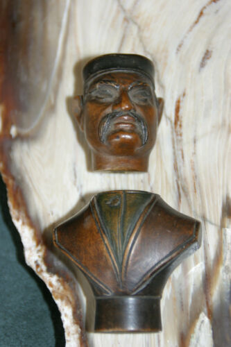 Unique Antique 2 piece carving~artist Edler~