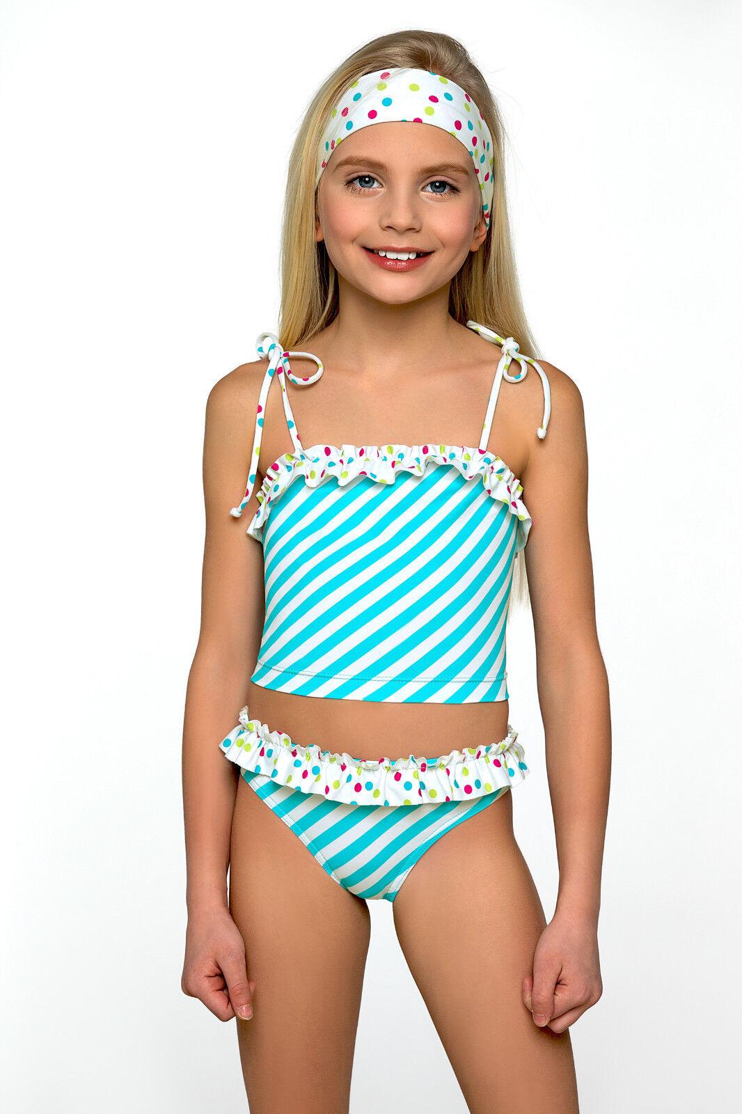 New Little Girls Sport Swimming Costume Swimwear Swimsuit Kids Age 3