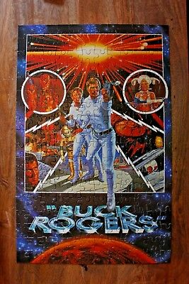 BUCK ROGERS Jigsaw Puzzle - 200 Pieces Complete - Arrow Puzzles 1981