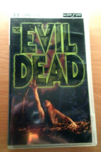 Region 1 EVIL DEAD movie UMD for Sony PSP Clean! See Pictures! Raimi