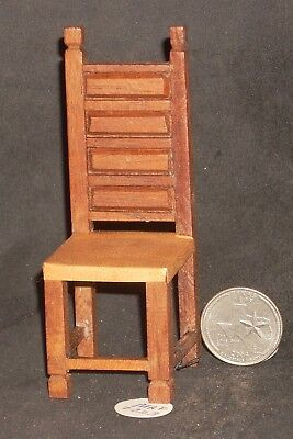 Mexican Bedroom Furniture (Mexican Dining Chair Tall Hacienda Furniture 1:12 #MAF2223 Miniature 0768 )