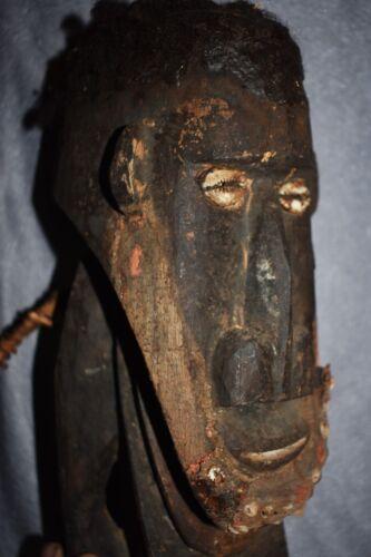"SALE! OLD PAPUA NEW GUINEA HOOK, SHELLS, HAIR 1900S 20"" PROV"