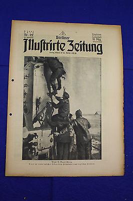 BERLINER ILLUSTRIRTE ZEITUNG (1918 Nr. 22) Fußball-Wettspiel/1. Weltkrieg/WW 1
