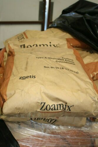 2050 LB Zoetis Zoamix Zoalene type A Coccidicitat for Chickens