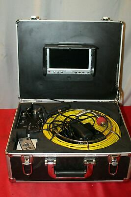 Anysun Upgraded Drain Pipe Sewer Inspection Camera Sony Ccd 7color Lcd P12