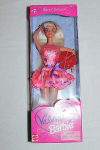 Vintage Special Edition Valentine 1998 Barbie Doll New in Original Box Sealed